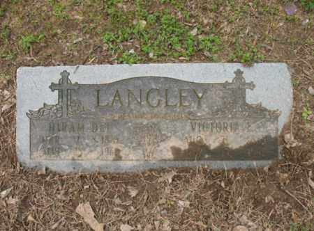 LANGLEY, HIRAM DEE - Jackson County, Arkansas | HIRAM DEE LANGLEY - Arkansas Gravestone Photos