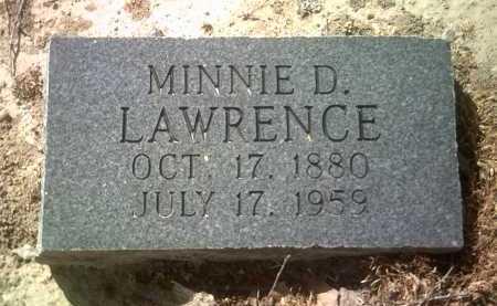 LAWRENCE, MINNIE D - Jackson County, Arkansas | MINNIE D LAWRENCE - Arkansas Gravestone Photos