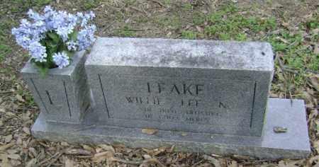 LEAKE, WILLIE LEE N - Jackson County, Arkansas | WILLIE LEE N LEAKE - Arkansas Gravestone Photos