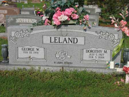 SCHNEBLY LELAND, DOROTHY M - Jackson County, Arkansas | DOROTHY M SCHNEBLY LELAND - Arkansas Gravestone Photos