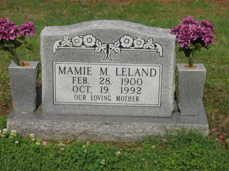 LELAND, MAMIE M - Jackson County, Arkansas | MAMIE M LELAND - Arkansas Gravestone Photos