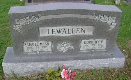 LEWALLEN, SR, SAMUEL M - Jackson County, Arkansas | SAMUEL M LEWALLEN, SR - Arkansas Gravestone Photos