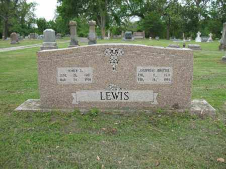 LEWIS, HOMER S - Jackson County, Arkansas | HOMER S LEWIS - Arkansas Gravestone Photos