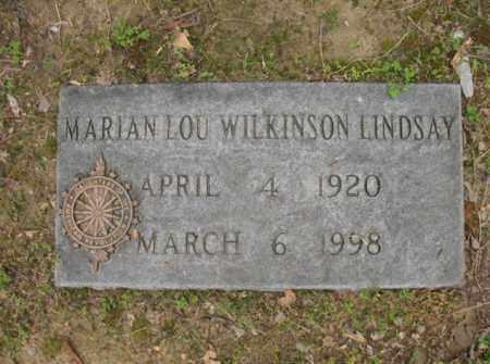 LINDSAY, MARION LOU - Jackson County, Arkansas | MARION LOU LINDSAY - Arkansas Gravestone Photos