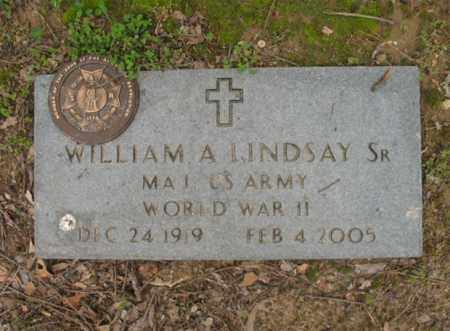 LINDSAY, SR (VETERAN WWII), WILLIAM A - Jackson County, Arkansas | WILLIAM A LINDSAY, SR (VETERAN WWII) - Arkansas Gravestone Photos