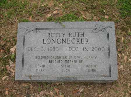 LONGNECKER, BETTY RUTH - Jackson County, Arkansas | BETTY RUTH LONGNECKER - Arkansas Gravestone Photos
