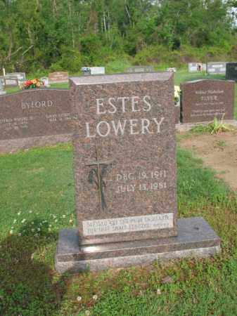 LOWERY, ESTES - Jackson County, Arkansas   ESTES LOWERY - Arkansas Gravestone Photos