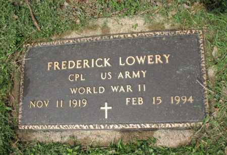 LOWERY (VETERAN WWII), FREDERICK - Jackson County, Arkansas | FREDERICK LOWERY (VETERAN WWII) - Arkansas Gravestone Photos
