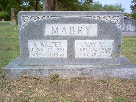 MABRY, R WALTER - Jackson County, Arkansas | R WALTER MABRY - Arkansas Gravestone Photos