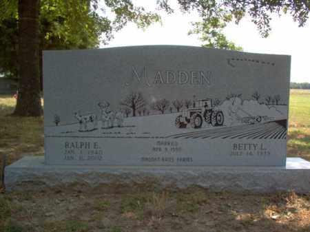 MADDEN, RALPH EUGENE - Jackson County, Arkansas | RALPH EUGENE MADDEN - Arkansas Gravestone Photos