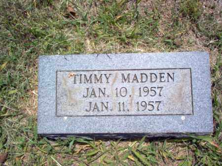 MADDEN, TIMMY - Jackson County, Arkansas | TIMMY MADDEN - Arkansas Gravestone Photos