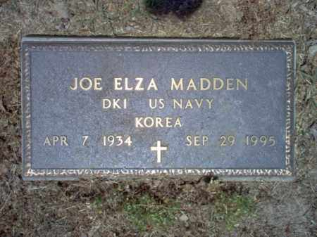 MADDEN (VETERAN KOR), JOE ELZA - Jackson County, Arkansas | JOE ELZA MADDEN (VETERAN KOR) - Arkansas Gravestone Photos