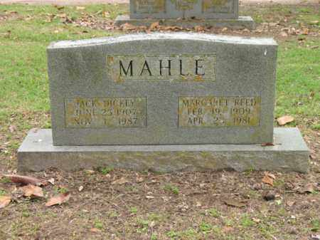 REED MAHLE, MARGARET - Jackson County, Arkansas | MARGARET REED MAHLE - Arkansas Gravestone Photos