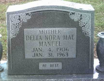 MANUEL, DELTA NORA MAE - Jackson County, Arkansas | DELTA NORA MAE MANUEL - Arkansas Gravestone Photos