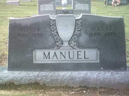 MANUEL, OLLIE - Jackson County, Arkansas | OLLIE MANUEL - Arkansas Gravestone Photos