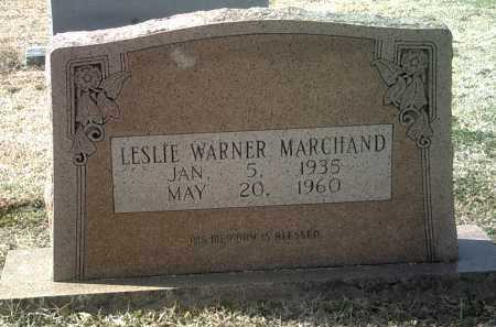 MARCHAND, LESLIE WARNER - Jackson County, Arkansas | LESLIE WARNER MARCHAND - Arkansas Gravestone Photos