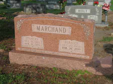 MARCHAND, STANLEY - Jackson County, Arkansas | STANLEY MARCHAND - Arkansas Gravestone Photos