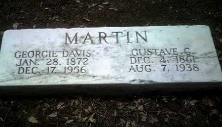 DAVIS MARTIN, GEORGIE - Jackson County, Arkansas | GEORGIE DAVIS MARTIN - Arkansas Gravestone Photos