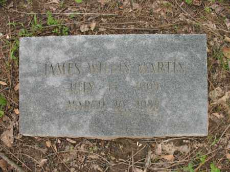 MARTIN, JAMES WILLIS - Jackson County, Arkansas | JAMES WILLIS MARTIN - Arkansas Gravestone Photos