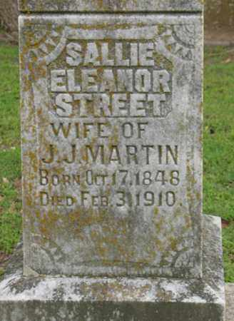 MARTIN, SALLIE ELEANOR - Jackson County, Arkansas | SALLIE ELEANOR MARTIN - Arkansas Gravestone Photos