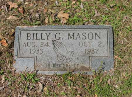MASON, BILLY G - Jackson County, Arkansas | BILLY G MASON - Arkansas Gravestone Photos