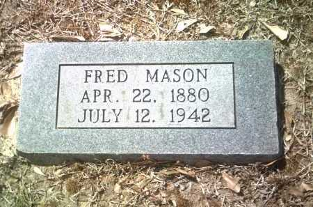 MASON, FRED - Jackson County, Arkansas | FRED MASON - Arkansas Gravestone Photos