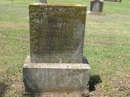 MASON, IRMA - Jackson County, Arkansas | IRMA MASON - Arkansas Gravestone Photos
