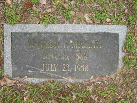 MASSEY, ESTELLA P - Jackson County, Arkansas | ESTELLA P MASSEY - Arkansas Gravestone Photos