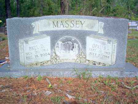 MASSEY, OPAL B - Jackson County, Arkansas | OPAL B MASSEY - Arkansas Gravestone Photos