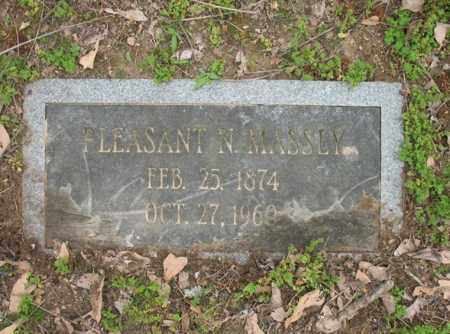 MASSEY, PLEASANT N - Jackson County, Arkansas | PLEASANT N MASSEY - Arkansas Gravestone Photos