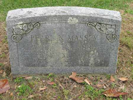 MASSEY, PEARL N - Jackson County, Arkansas | PEARL N MASSEY - Arkansas Gravestone Photos