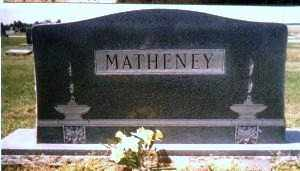 MATHENEY, FAMILY STONE - Jackson County, Arkansas | FAMILY STONE MATHENEY - Arkansas Gravestone Photos