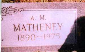 MATHENEY, HENRY LONZA - Jackson County, Arkansas | HENRY LONZA MATHENEY - Arkansas Gravestone Photos