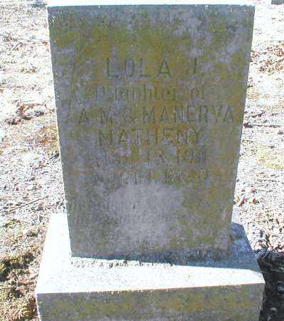 MATHENEY, LOLA B. - Jackson County, Arkansas | LOLA B. MATHENEY - Arkansas Gravestone Photos