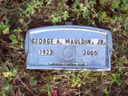 MAULDIN, JR, GEORGE A - Jackson County, Arkansas | GEORGE A MAULDIN, JR - Arkansas Gravestone Photos