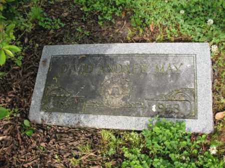 MAY, DAVID ANDREW - Jackson County, Arkansas | DAVID ANDREW MAY - Arkansas Gravestone Photos