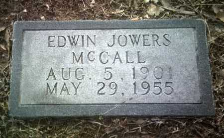 MCCALL, EDWIN JOWERS - Jackson County, Arkansas | EDWIN JOWERS MCCALL - Arkansas Gravestone Photos