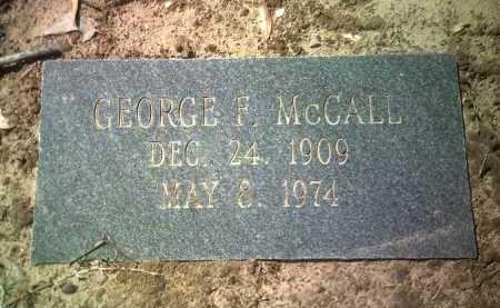 MCCALL, GEORGE F - Jackson County, Arkansas | GEORGE F MCCALL - Arkansas Gravestone Photos