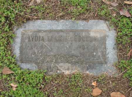 MCCOLLUM, LYDIA LEAH - Jackson County, Arkansas | LYDIA LEAH MCCOLLUM - Arkansas Gravestone Photos