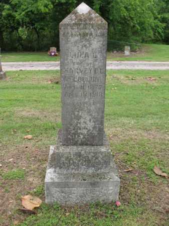 MCCOLLUM, LULA E - Jackson County, Arkansas | LULA E MCCOLLUM - Arkansas Gravestone Photos