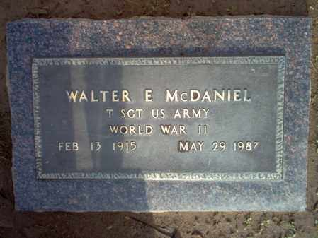 "MCDANIEL (VETERAN WWII), WALTER E ""MAC"" - Jackson County, Arkansas | WALTER E ""MAC"" MCDANIEL (VETERAN WWII) - Arkansas Gravestone Photos"