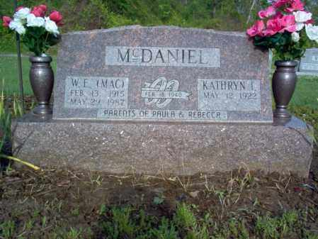 "MCDANIEL, WALTER E ""MAC"" - Jackson County, Arkansas 