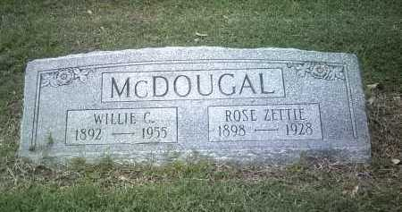 MCDOUGAL, WILLIE C - Jackson County, Arkansas | WILLIE C MCDOUGAL - Arkansas Gravestone Photos