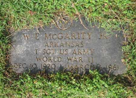 MCGARITY, JR (VETERAN WWII), W E - Jackson County, Arkansas | W E MCGARITY, JR (VETERAN WWII) - Arkansas Gravestone Photos