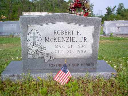 MCKENZIE, JR, ROBERT F - Jackson County, Arkansas | ROBERT F MCKENZIE, JR - Arkansas Gravestone Photos