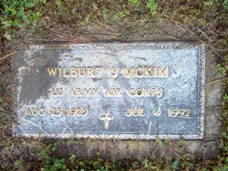 MCKIM (VETERAN), WILBURT S - Jackson County, Arkansas | WILBURT S MCKIM (VETERAN) - Arkansas Gravestone Photos