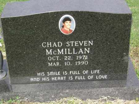 MCMILLAN, CHAD STEVEN - Jackson County, Arkansas | CHAD STEVEN MCMILLAN - Arkansas Gravestone Photos