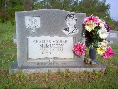 MCMURTRY, CHARLES MICHAEL - Jackson County, Arkansas | CHARLES MICHAEL MCMURTRY - Arkansas Gravestone Photos