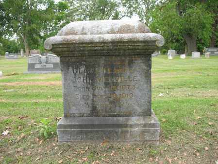 MELVILLE, CLARA M - Jackson County, Arkansas | CLARA M MELVILLE - Arkansas Gravestone Photos
