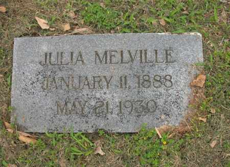 MELVILLE, JULIA - Jackson County, Arkansas | JULIA MELVILLE - Arkansas Gravestone Photos